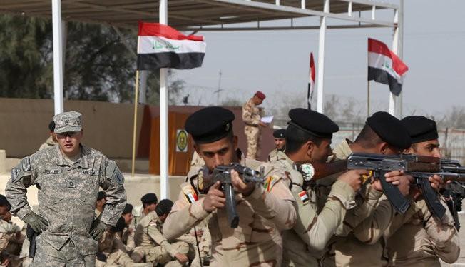 Cố vấn Mỹ đang huấn luyện cho quân đội Iraq và một số nhóm phiến quân Syria