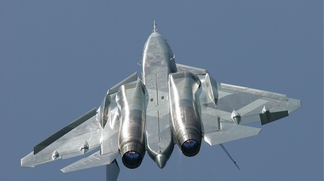 Chiến đấu cơ tàng hình thế hệ 5 Su T-50 của Nga