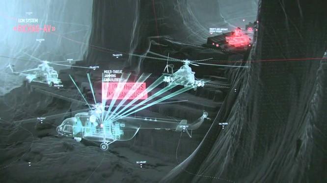 Trực thăng Nga trang bị hệ thống tác chiến điện tử rất lợi hại