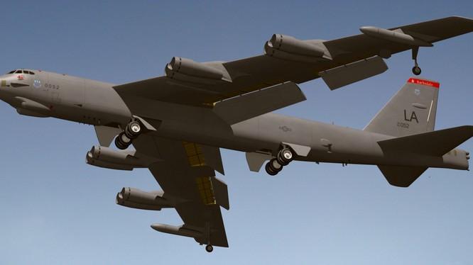 """Một chiếc """"pháo đài bay"""" B-52 của quân đội Mỹ"""