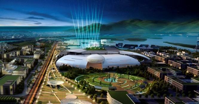 Dự kiến Trung tâm hành chính Khánh Hòa trong tương lai.