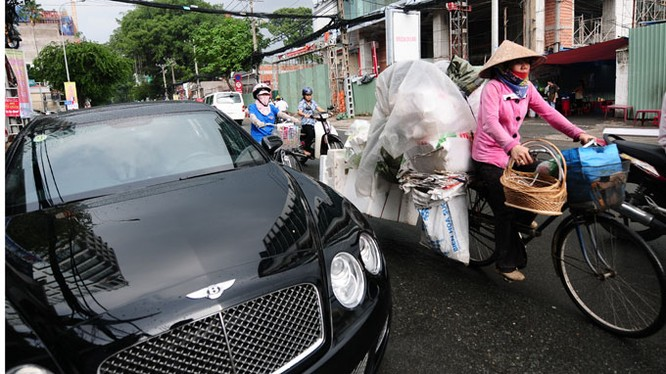 Chênh lệch giàu nghèo ở Việt Nam có xu hướng doãng rộng hơn
