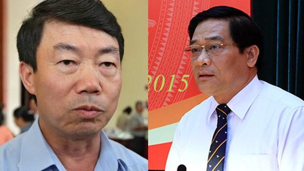 Ông Nguyễn Doãn Khánh (trái) và ông Hà Ngọc Chiến
