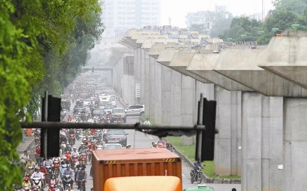 Tuyến Cát Linh - Hà Đông dự kiến hoàn thành vào cuối năm 2016
