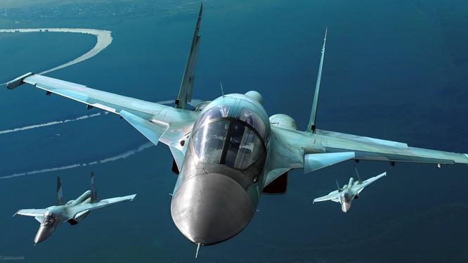 Máy bay Su-34 Fullback của Nga tác chiến tại Syria