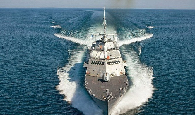Mỹ điều chiến hạm tuần duyên USS Milwaukee đến Biển Đông