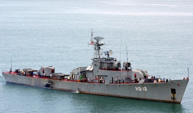 Một tàu săn ngầm của Việt Nam