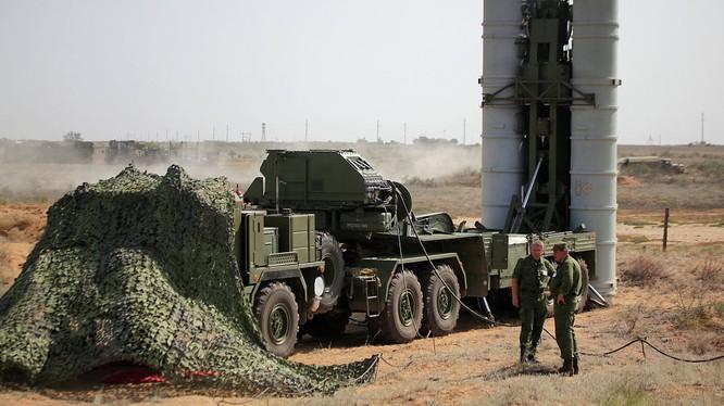 Nga đã triển khai hệ thống tên lửa khét tiếng S-400 tại Syria