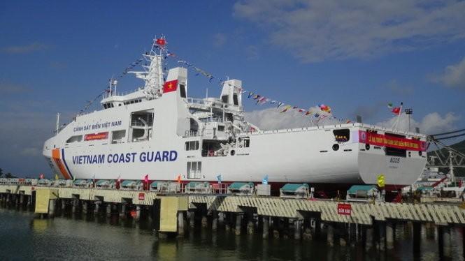 Tàu Cảnh sát biển 8005 - Ảnh: Đ.N