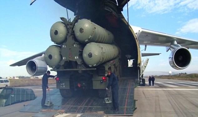 Hệ thống S-400 đã được triển khai tại Syria