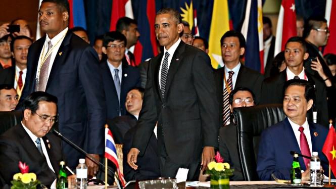 Lãnh đạo 10 nước ASEAN sẽ sang Mỹ vào năm 2016 để bàn chuyện Biển Đông - Ảnh minh họa: Reuters