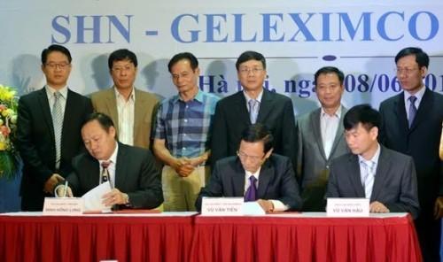 Geleximco giúp SHN mỗi tháng 50 tỷ đồng lợi nhuận. Ảnh SHN