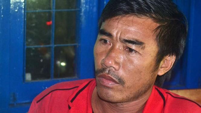 Ngư dân Bùi Văn Cu, chủ tàu kiêm thuyền trưởng tàu cá QNg 95861 TS - Ảnh: Hiển Cừ