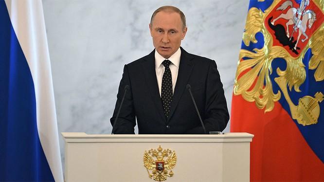 Tổng thống Putin đọc thông điệp liên bang 2015