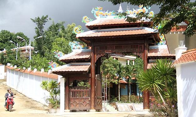 Khu biệt thự của ông Ngô Văn Quang
