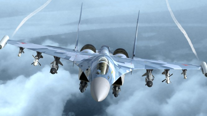 Chiến đấu cơ Su-35 của Nga đang hút khách