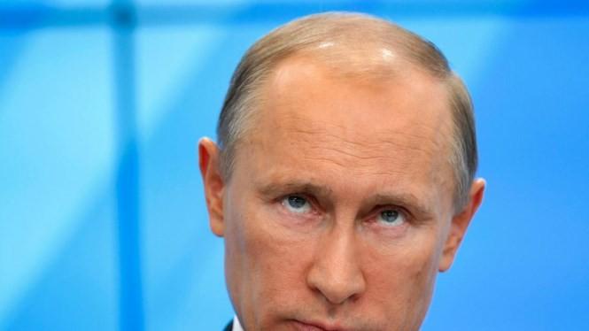 Tổng thống Nga Vladimir Putin sẽ là Nhân vật của Năm 2015, theo bình chọn của tạp chí TIME? - Ảnh: AFP