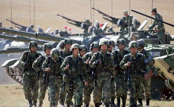 Quân đội Trung Quốc có quân số đông nhất thế giới
