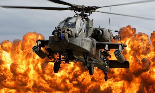 Một chiếc trực thăng AH-64 Apache của Mỹ. Ảnh: Reuters