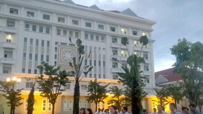 Công trình nhà khách tỉnh Quảng Nam giờ chuyển cho doanh nghiệp du lịch khai thác - Ảnh: Hứa Xuyên Huỳnh