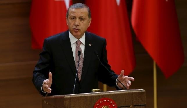 Tổng thống Thổ Nhĩ Kỳ Erdogan - Ảnh: Reuters