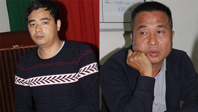 """2 """"siêu lừa"""" sa lưới Ye Tian Jin và Ye Guorong."""