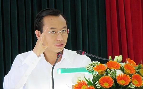 Ông Nguyễn Xuân Anh, Bí thư Thành ủy Đà Nẵng (Ảnh: HC)