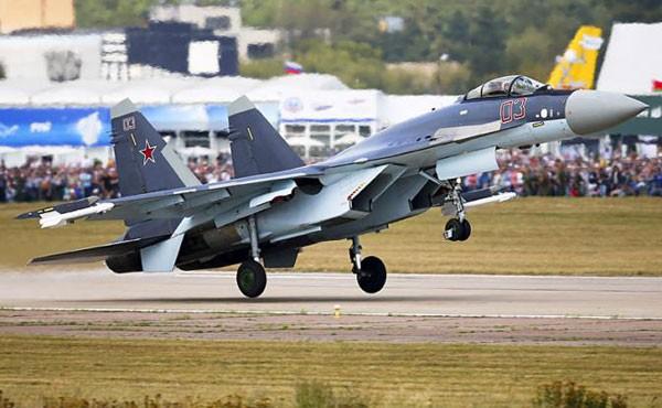 Tiêm kích Su-35 của Nga