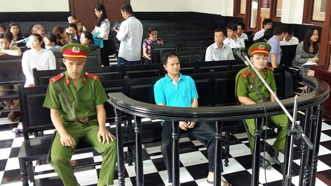 Võ Văn Minh tại phiên tòa sáng nay