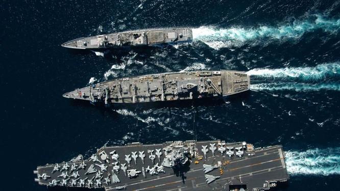 Mỹ có thể bố trí 2 hạm đội hải quân ở khu vực tây Thái Bình Dương để đối phó Trung Quốc