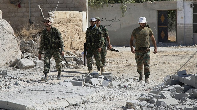 Binh sĩ Syria