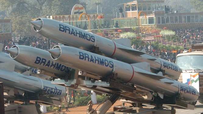Tên lửa Bramos của Ấn Độ