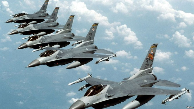 Không quân nhiều nước NATO đang tham chiến tại Syria