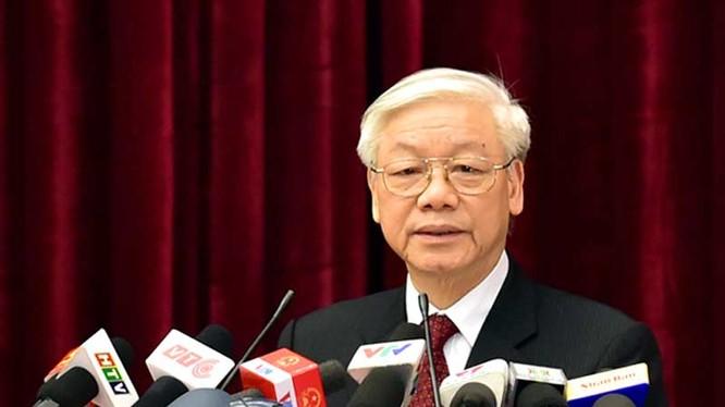 Tổng bí thư Nguyễn Phú Trọng. Ảnh: VGP/Nhật Bắc