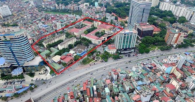 Khách sạn Kim Liên nằm ở khu đất vàng trung tâm thành phố Hà Nội.
