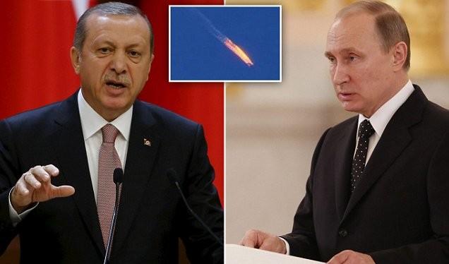 """Tổng thống Putin coi vụ bắn hạ Su-24 là """"cú đâm sau lưng"""" hèn hạ của Thổ Nhĩ Kỳ"""