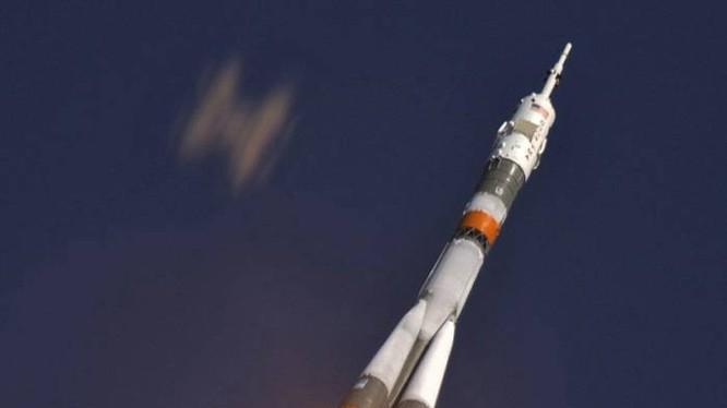 Tên lửa Soyuz được phóng lên quỹ đạo