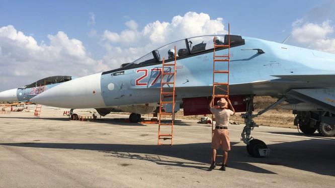 Tiêm kích Su-30SM của Nga tác chiến tại Syria
