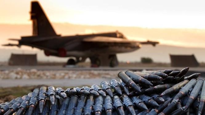 Chiến đấu cơ Nga tác chiến tại Syria