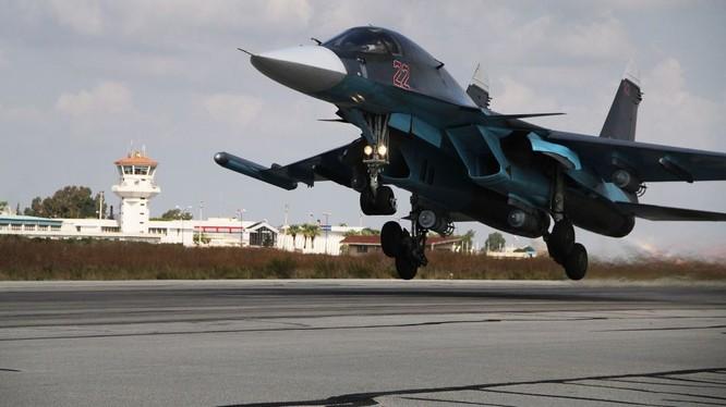Chiến đấu cơ đa nhiệm Su-34 Fullback của Nga