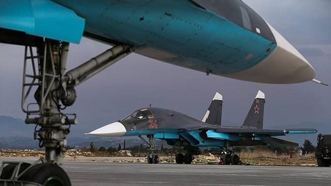 Chiến đấu cơ Su-34 của Nga tác chiến chống khủng bố tại Syria