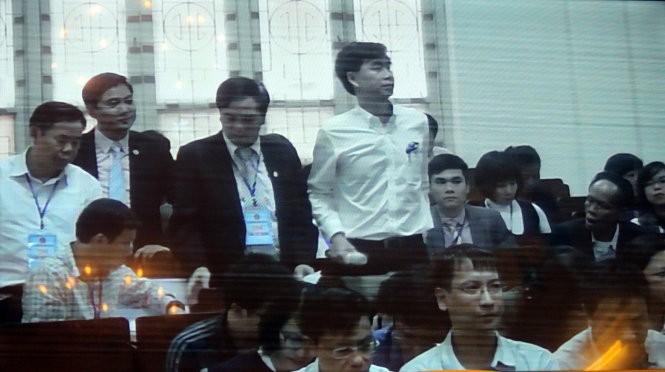 Đại diện Agribank tại phiên tòa