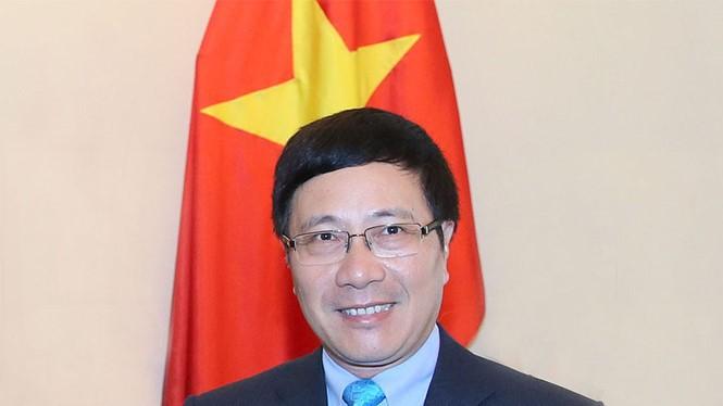 Phó thủ tướng Phạm Bình Minh - Ảnh: Chinhphu.vn