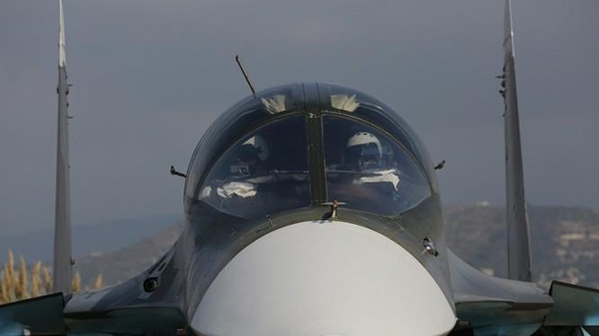 Chiến đấu cơ Su-34 của Nga tác chiến tại Syria