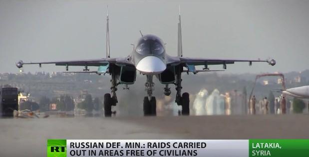 Su-34 Fullback của Nga tác chiến tại Syria