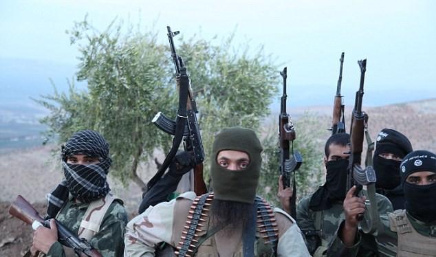 Chiến binh khủng bố tại Syria