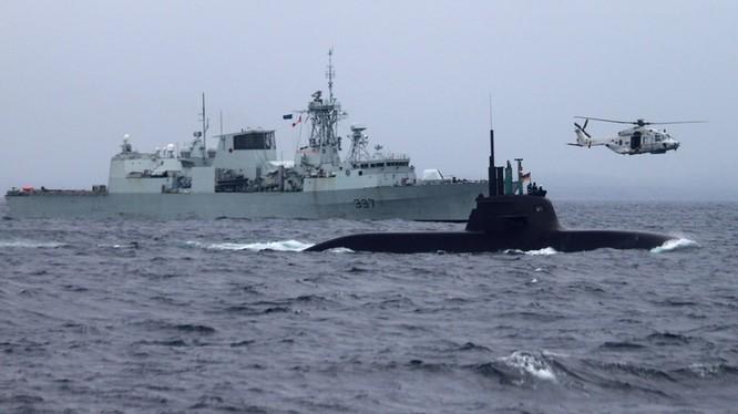 Hải quân NATO tập trận