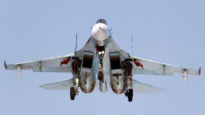 Chiến đấu cơ Su-30 SM của Nga tác chiến tại Syria