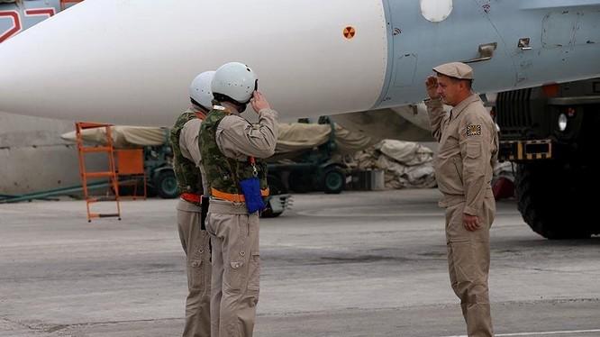 Binh sĩ Nga tham gia chiến dịch quân sự tại Syria