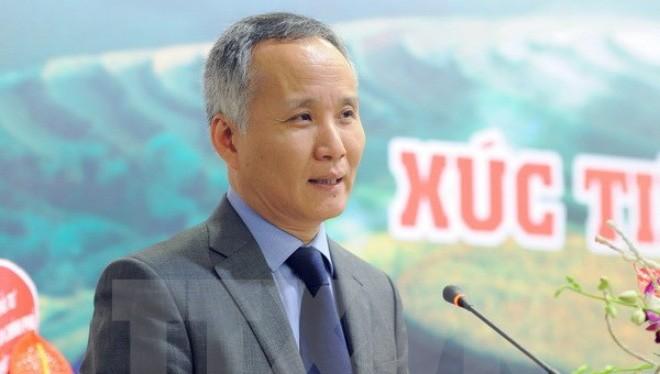Thứ trưởng Bộ Công Thương Trần Quốc Khánh. (Ảnh: Tuấn Anh/TTXVN)